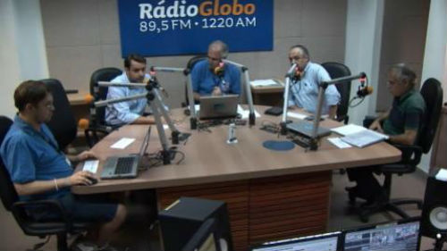 Fotos: Rádio Globo