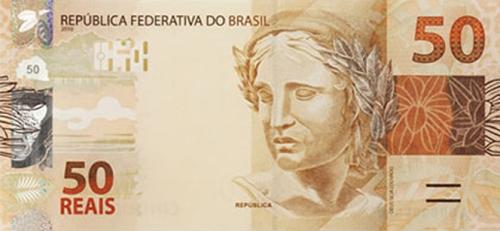 Divulgação BC 10122010-CinquentaReais.jpg Brasília - O Banco Central (BC) lança na próxima segunda-feira (13) a segunda geração da família de cédulas do real. Primeiro, entrarão em circulação as novas notas de R$ 50 e de R$ 100. Em 2011, será a vez das notas de R$ 10 e de R$ 20 e, por último, a partir de 2012, começará a substituição das notas de R$ 2 e de R$ 5. De acordo com o BC, as duas notas de maior valor são as que demandam maior proteção contra tentativas de falsificação e, por isso, estão sendo lançadas antes das demais. Mais de 70% das cédulas falsas apreendidas no país são de R$ 50 e de R$ 100
