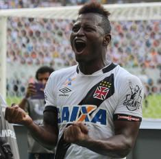 Riascos comemora seu gol (Foto: www.vasco.com.br)